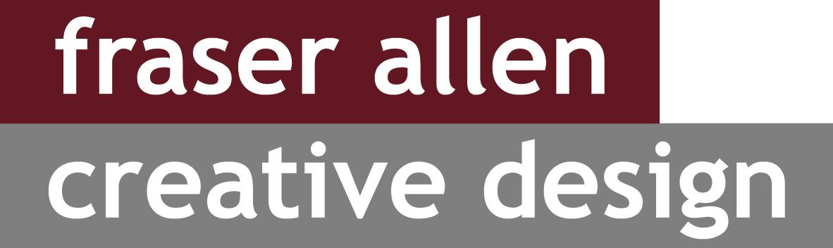 fraser allen creative design logo